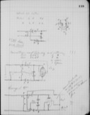 Edgerton Lab Notebook 10, Page 119