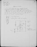 Edgerton Lab Notebook 19, Page 01