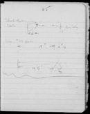 Edgerton Lab Notebook BB, Page 65