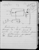 Edgerton Lab Notebook BB, Page 73