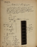 Edgerton Lab Notebook T-3, Page 132